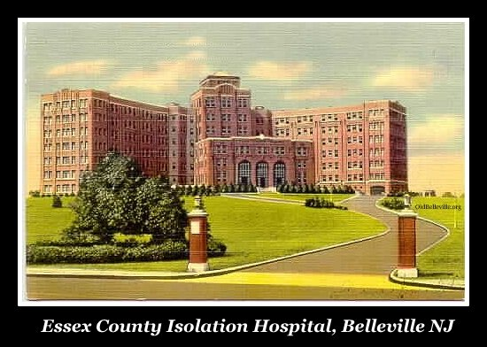 Essex County Isolation Hospital, Soho, Belleville, N.J.